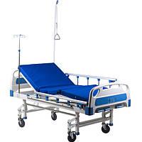 Кровать функционаяльная механическая HBM-2SM (4-секционная), фото 1