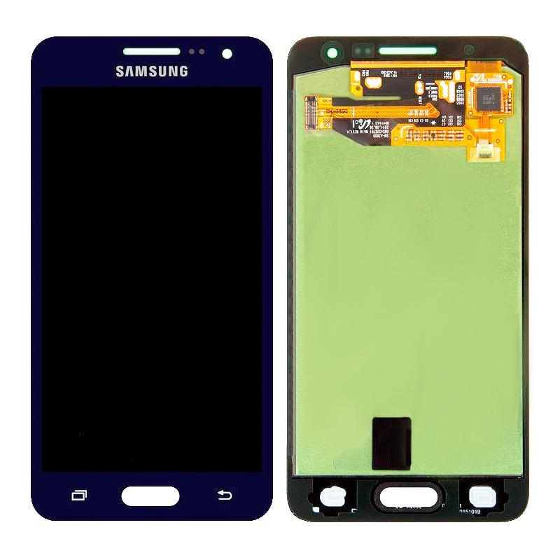 LCD Samsung A300 (A3) + touch Dark Blue Copy