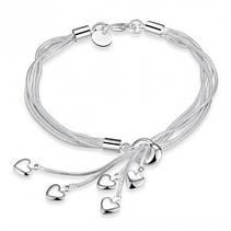 браслеты покрытые серебром
