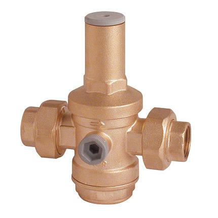"""Редуктор давления воды с 2-я патрубками 2"""" ICMA 245 (Италия), фото 2"""