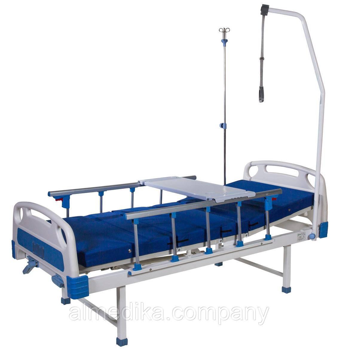Кровать функционаяльная механическая HBM-2S (4-секционная)