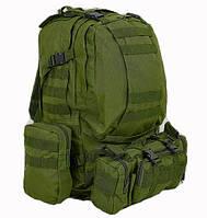 Рюкзак тактический в расцветке олива + сумка+ 2 подсумка, фото 1