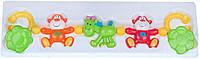 Подвески-цепочки Брязкальце на коляску Радість, салатовая лошадь, Canpol babies (2/717-2), Разноцветный
