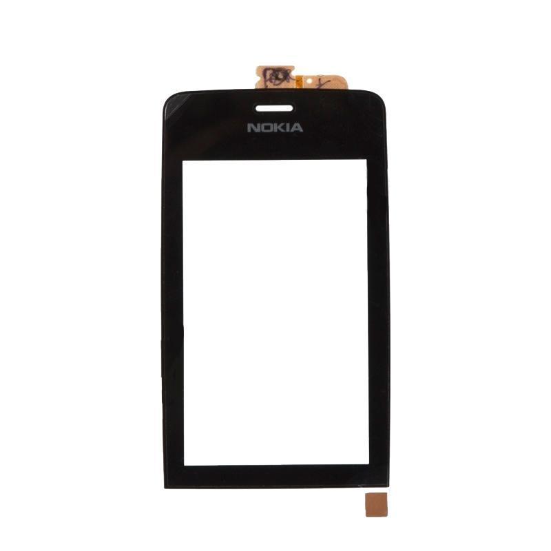 Touchscreen Nokia 308 Black OR