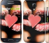 "Чехол на Samsung Galaxy S4 mini Сахарное сердце ""716c-32"""