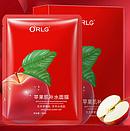Увлажняющая маска для лица ORLG Apple 30 g (упаковка 10 штук), фото 2