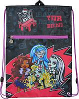 Сумка для обуви Monster High 601‑3, с карманом, фото 1