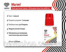 """Клей чорний для нарощування вій Lovely """"Marvel"""", 10мл"""