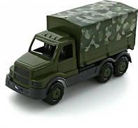 """Автомобиль бортовой """"Сталкер"""" тентовый, военный, в сетке 45*17*23см, ТМ Полесье"""