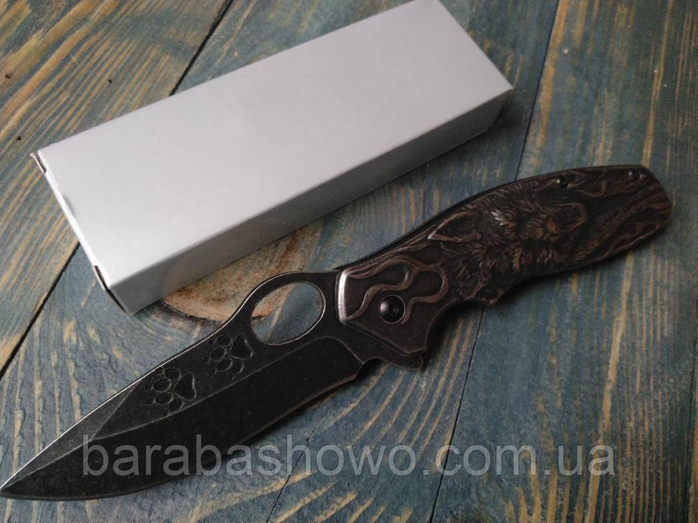 Нож складной WK165 SPYDER VOLF