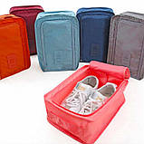Дорожный органайзер для обуви, сумочка-органайзер для обуви, кофр для обуви, фото 2