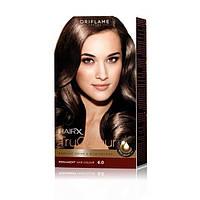 25419 Oriflame. Cтойкая краска для волос HairX TruColour - Тон 6.0., Светло-коричневый, 125 мл. Орифлейм 25419