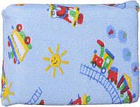 Губка для купания махровая (голубая), Canpol babies (43/103-3)