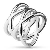 """Женское кольцо двойное """"Икс"""", р. 15.7, 16.5, 17.3, 18, 19"""