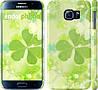 "Чехол на Samsung Galaxy S6 G920 Клевер ""459c-80"""