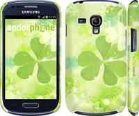"Чехол на Samsung Galaxy S3 mini Клевер ""459c-31"""