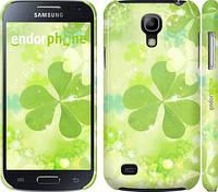 "Чехол на Samsung Galaxy S4 mini Duos GT i9192 Клевер ""459c-63"""