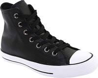 Мужские кеды Converse Chuck Taylor All Star Leather High Top Black/White/Black Premium Leather