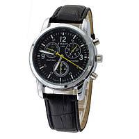 Классические мужские часы Tissot черный цвет, фото 1