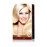 25424 Oriflame. Cтойкая краска для волос HairX TruColour - Тон 12.01., Ультрасветлый пепельный блонд, 125 мл.