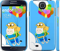 "Чехол на Samsung Galaxy S4 i9500 Adventure time. Finn and Jake v3 ""2453c-13"""