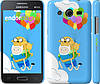 "Чехол на Samsung Galaxy Core 2 G355 Adventure time. Finn and Jake v3 ""2453c-75"""