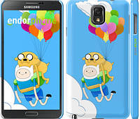 "Чехол на Samsung Galaxy Note 3 N9000 Adventure time. Finn and Jake v3 ""2453c-29"""