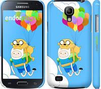 "Чехол на Samsung Galaxy S4 mini Adventure time. Finn and Jake v3 ""2453c-32"""