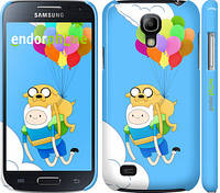 "Чехол на Samsung Galaxy S4 mini Duos GT i9192 Adventure time. Finn and Jake v3 ""2453c-63"""