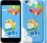"Чехол на iPhone 6 Adventure time. Finn and Jake v3 ""2453c-45"""