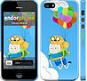"Чехол на iPhone 5 Adventure time. Finn and Jake v3 ""2453c-18"""