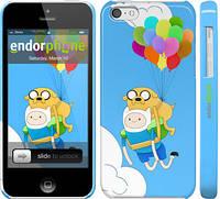 "Чехол на iPhone 5c Adventure time. Finn and Jake v3 ""2453c-23"""