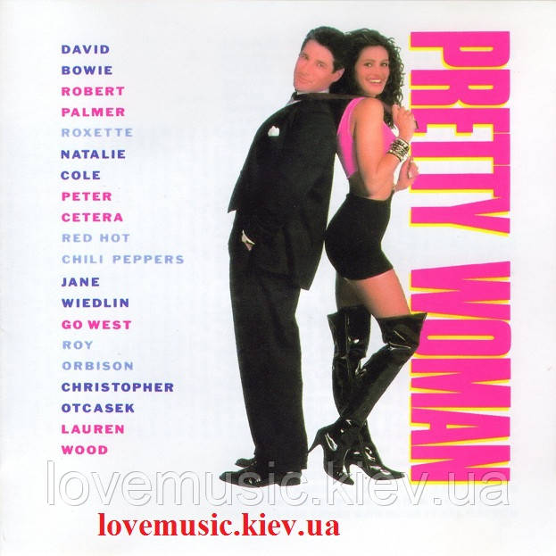 Музичний сд диск PRETTY WOMAN (Music From The Motion Picture) (1990) (audio cd)