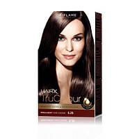 25426 Oriflame. Cтойкая краска для волос HairX TruColour - Тон 5.25., Интенсивный коричневый, 125 мл. Орифлейм
