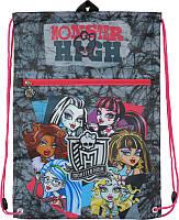 Сумка для обуви 601 Monster High‑5, с карманом, фото 1