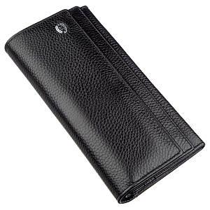 Универсальный кошелек-визитница ST Leather 18951 Черный, Черный