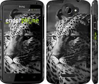 """Чехол на HTC One X Леопард 3 """"854c-42"""""""