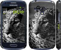 "Чехол на Samsung Galaxy S3 mini Леопард 3 ""854c-31"""