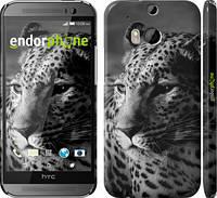 """Чехол на HTC One M8 Леопард 3 """"854c-30"""""""