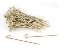 Fackelmann. Шпажки для канапе бамбук с узлом 10см 56645 50шт/уп(4008033566452)