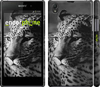 """Чехол на Sony Xperia Z1 C6902 Леопард 3 """"854c-38"""""""