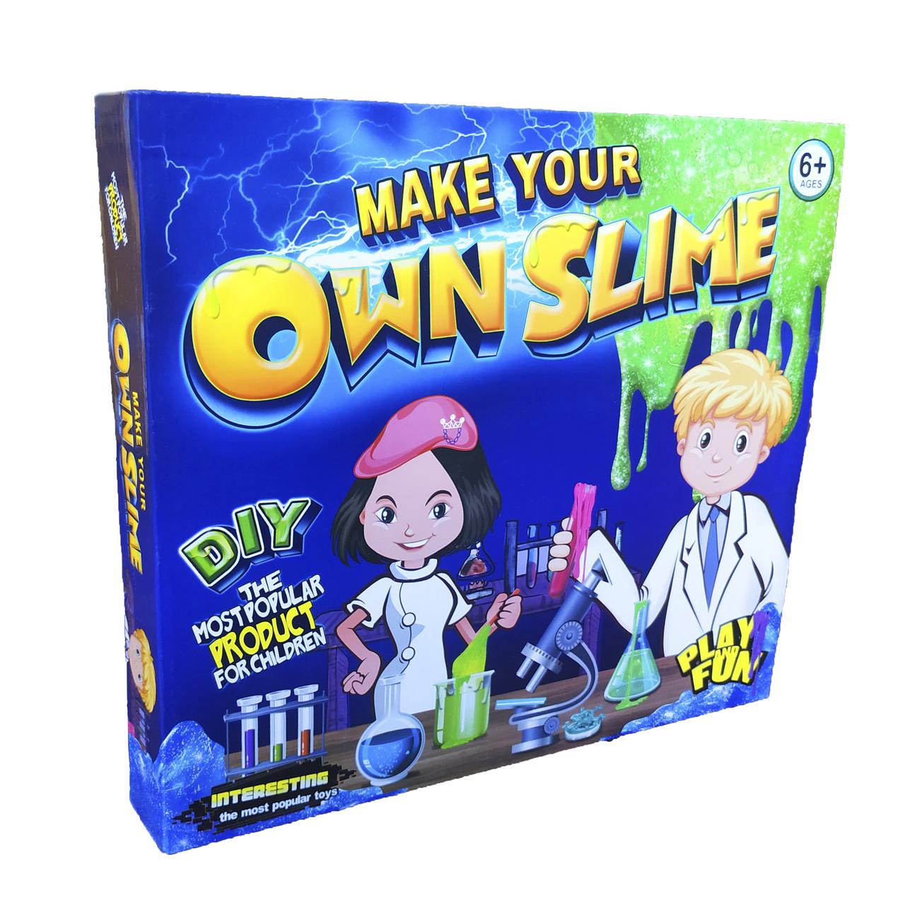Набор для создания слаймов Own Slime Лаборатория слаймов своими руками scs