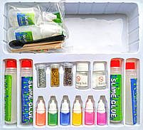 Набор для создания слаймов Own Slime Лаборатория слаймов своими руками scs, фото 2