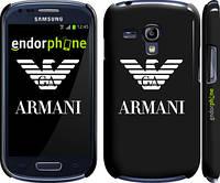 "Чехол на Samsung Galaxy S3 mini Armani ""972c-31"""
