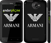 "Чехол на HTC One X Armani ""972c-42"""