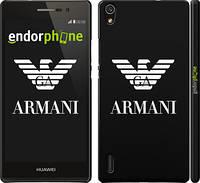 "Чехол на Huawei Ascend P7 Armani ""972c-49"""