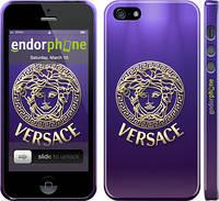 """Чехол на iPhone 5 Versace 2 """"458c-18"""""""