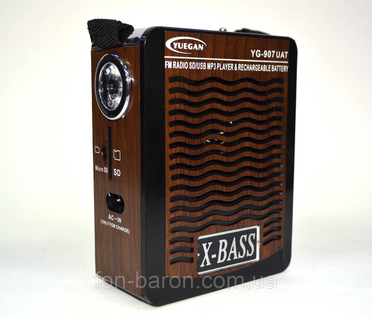Радиоприемник YUEGAN YG - 907 UAТ, фото 1