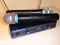 2-канальная радиосистема Sennheiser EW-100, компактный приёмник и качественный звук