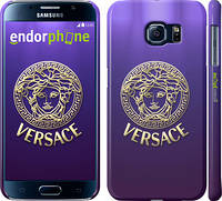 "Чехол на Samsung Galaxy S6 G920 Versace 2 ""458c-80"""
